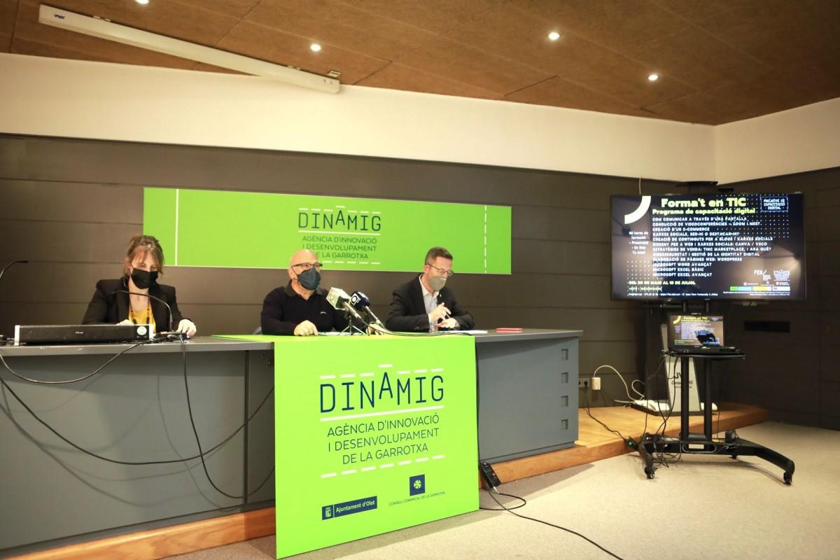 L'anàlisi dels resultats de l'estudi s'han presentat a la seu de Dinàmig a Olot.