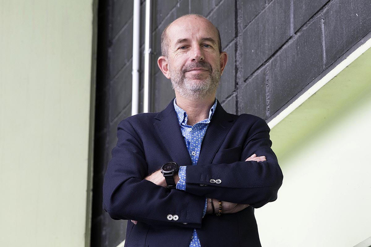 El manresà Jaume Sanpera, CEO de Sateliot, l'empresa que ha llançat l'Enxaneta a l'espai