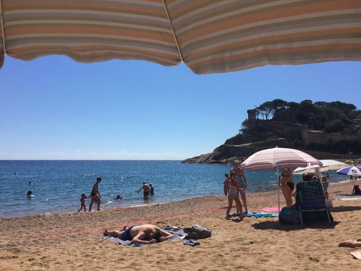 La platja gran de Tossa de Mar lluirà la bandera blava.