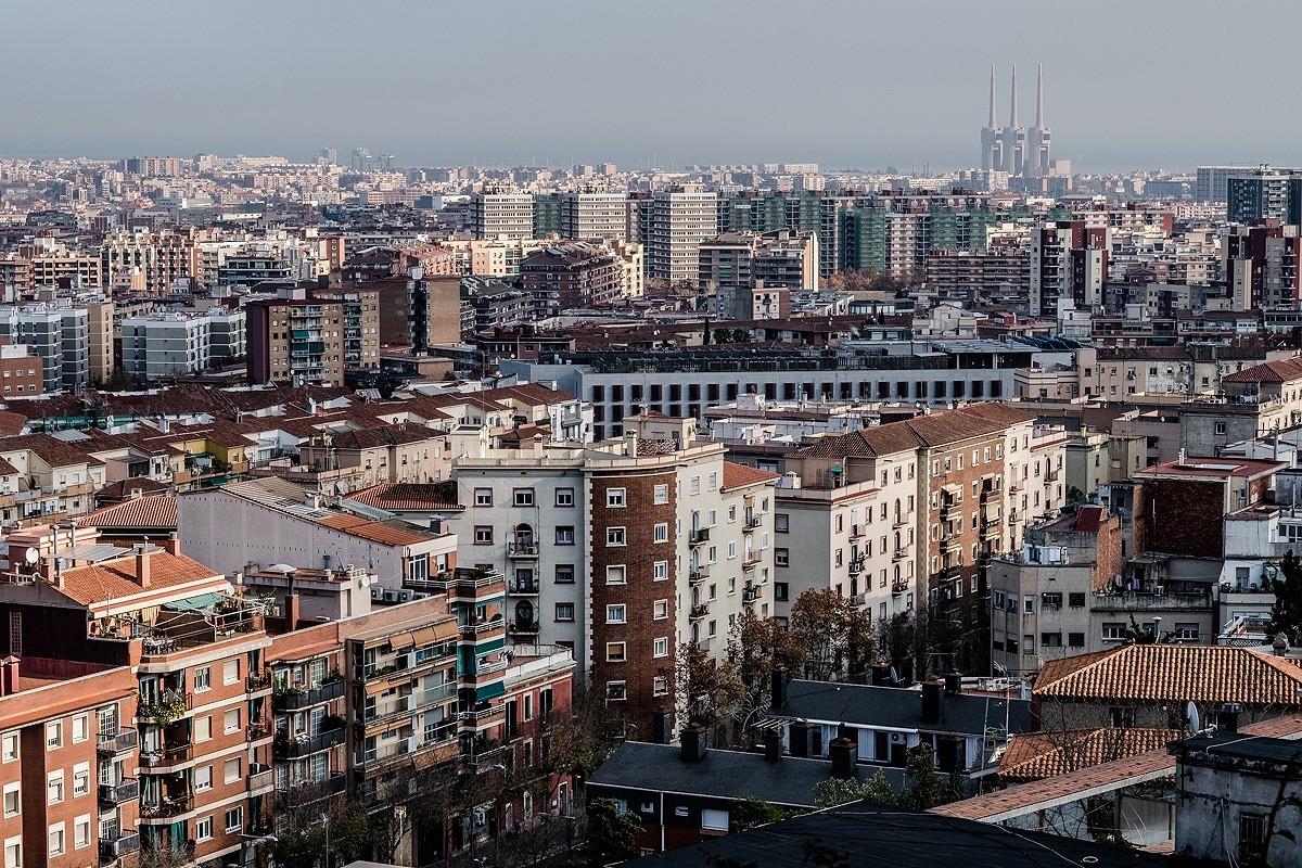 Vistes de Barcelona des del Guinardó