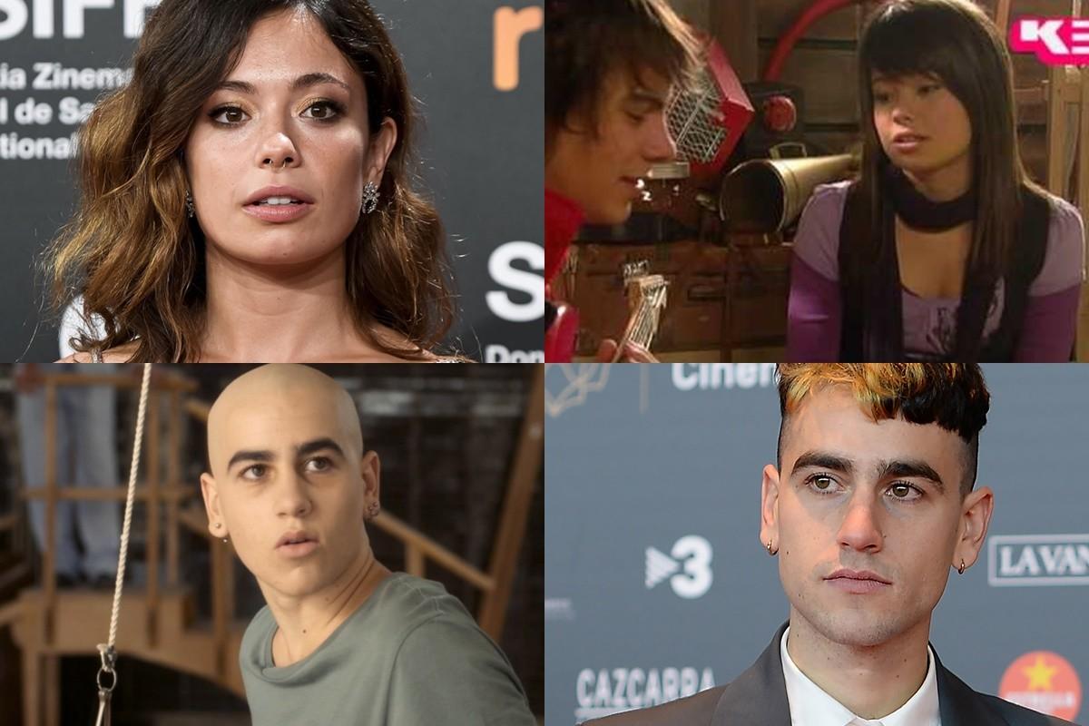 Anna Castillo i Àlex Monner, en l'abans i el després del seu pas per les sèries de TV3