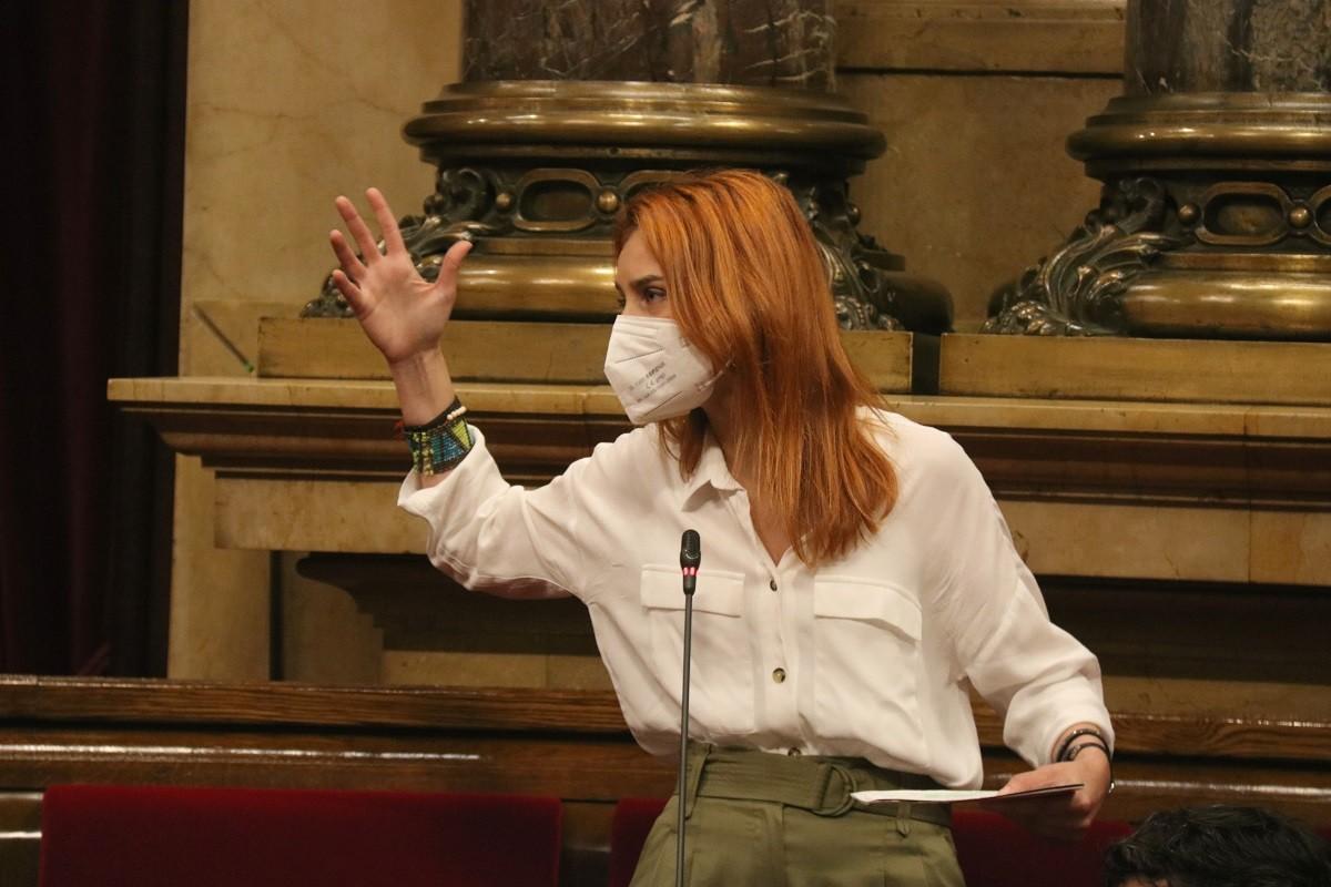 Jéssica Albiach, aquest dijous al Parlament.