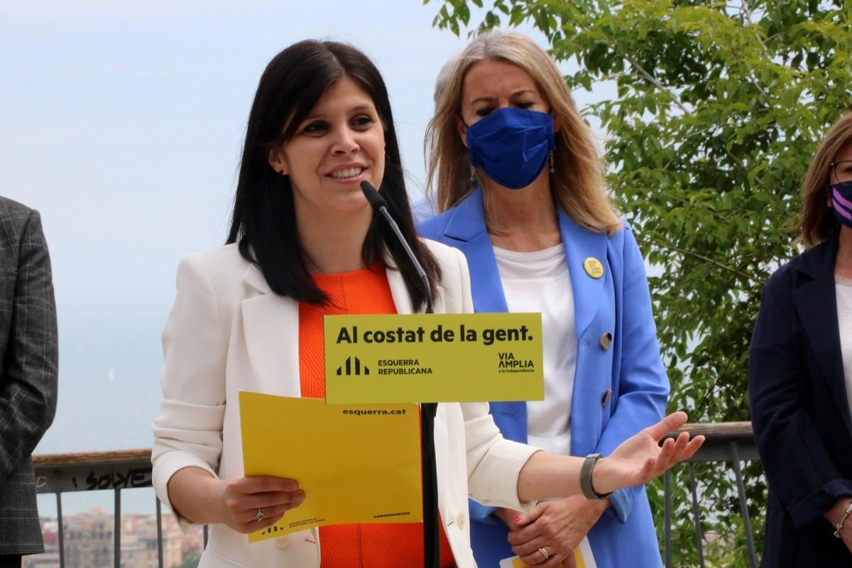Marta Vilalta, portaveu d'ERC