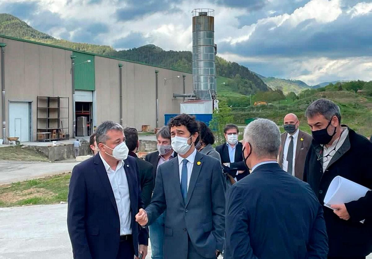 El conseller Damià Calvet ha visitat les instal·lacions