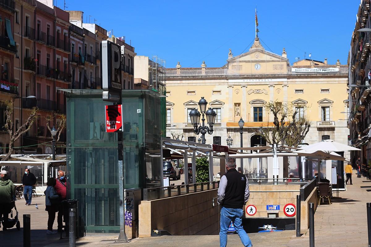 La plaça de la Font de Tarragona.