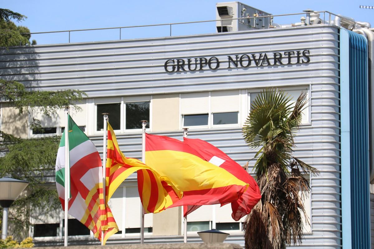 La planta de Novartis Sandoz, a les Franqueses