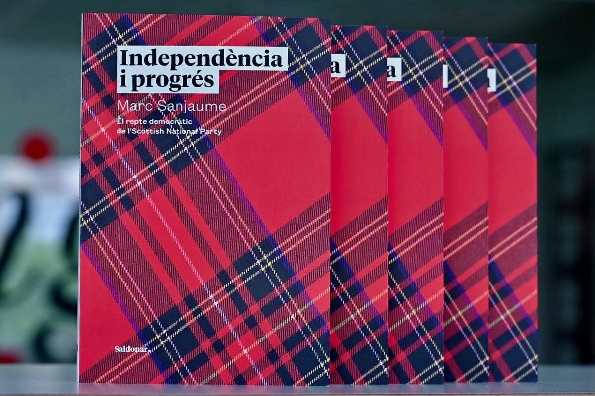 «Independència i progrés» de Marc Sanjaume, editat per Saldonar