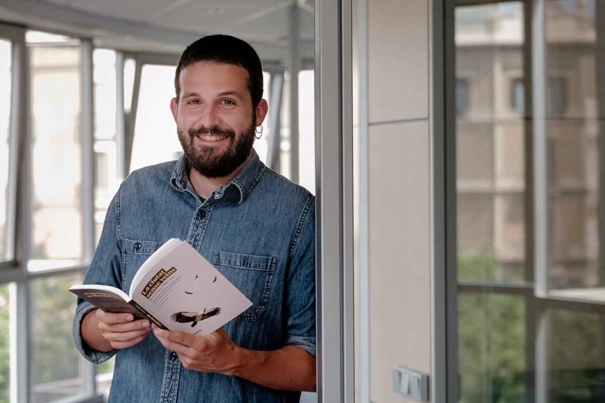 Andreu Merino, periodista de NacióDigital i autor de «La ciutat sense veïns»