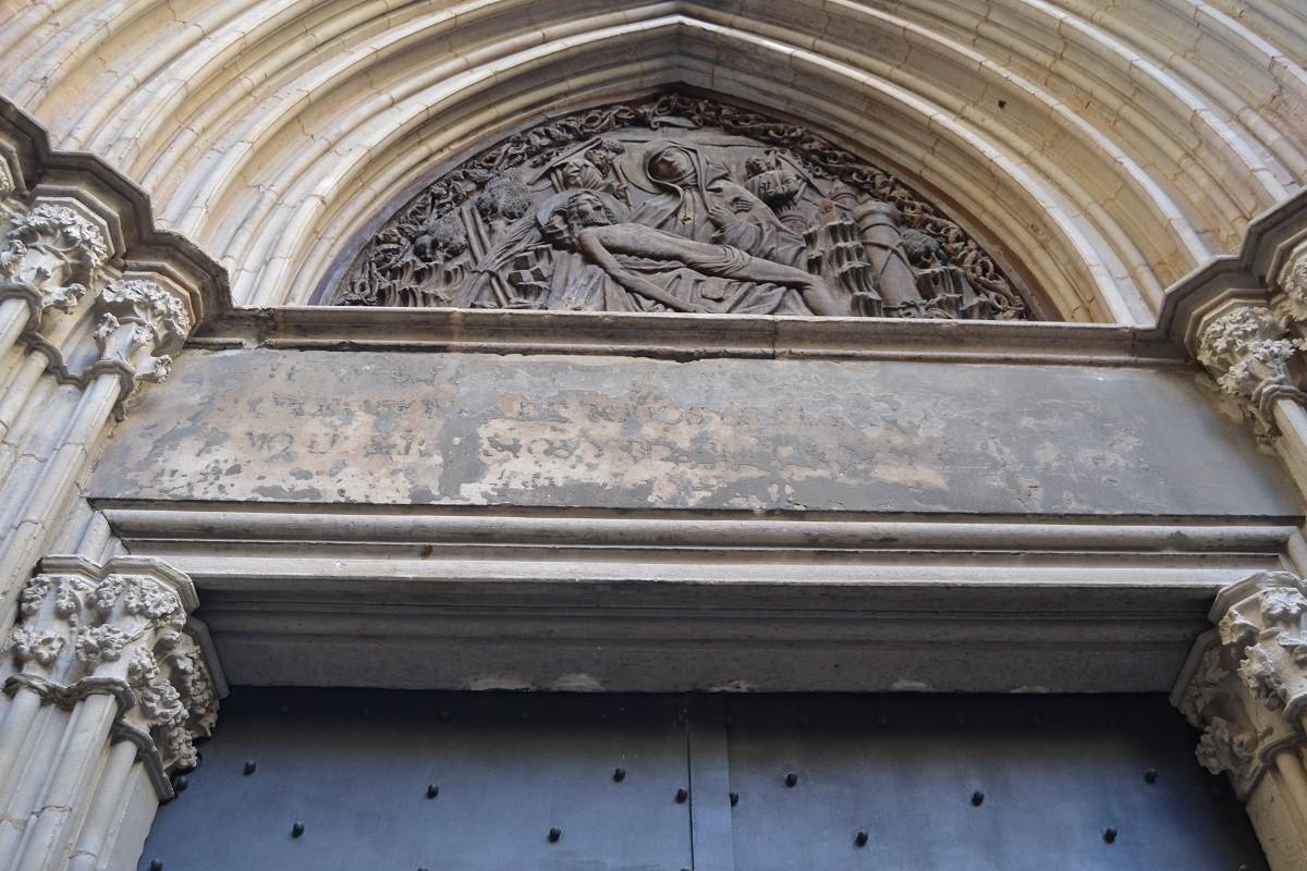 Llindar de la Porta de la Pietat