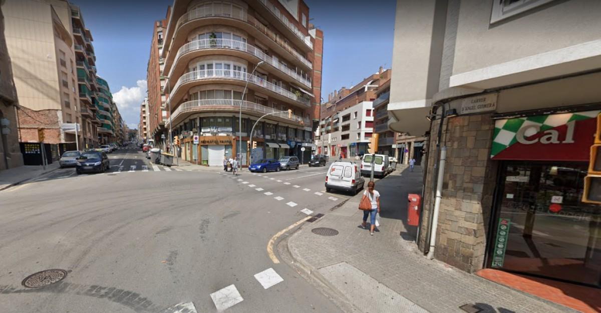 Cruïlla entre carrer Guimerà i carrer Barcelona