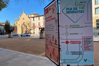 Una seixantena de propostes per al pla de mobilitat sostenible de Vic