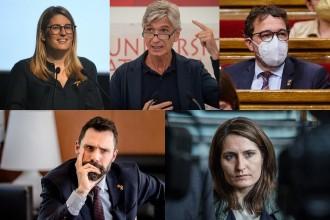 Govern Aragonès: qui s'hi quedarà, qui hi entrarà i qui en sortirà