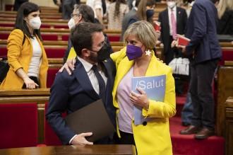 Alba Vergés i Oriol Lladó, nous vicesecretaris generals d'ERC
