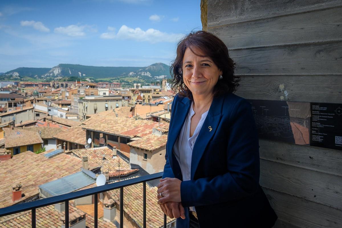 Anna Erra, alcaldessa de Vic