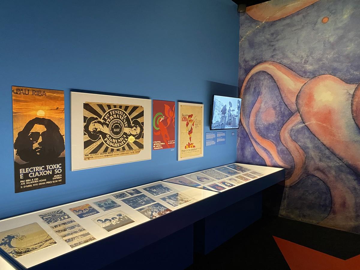 Exposició 'Underground i Contracultura a la Catalunya dels 70'