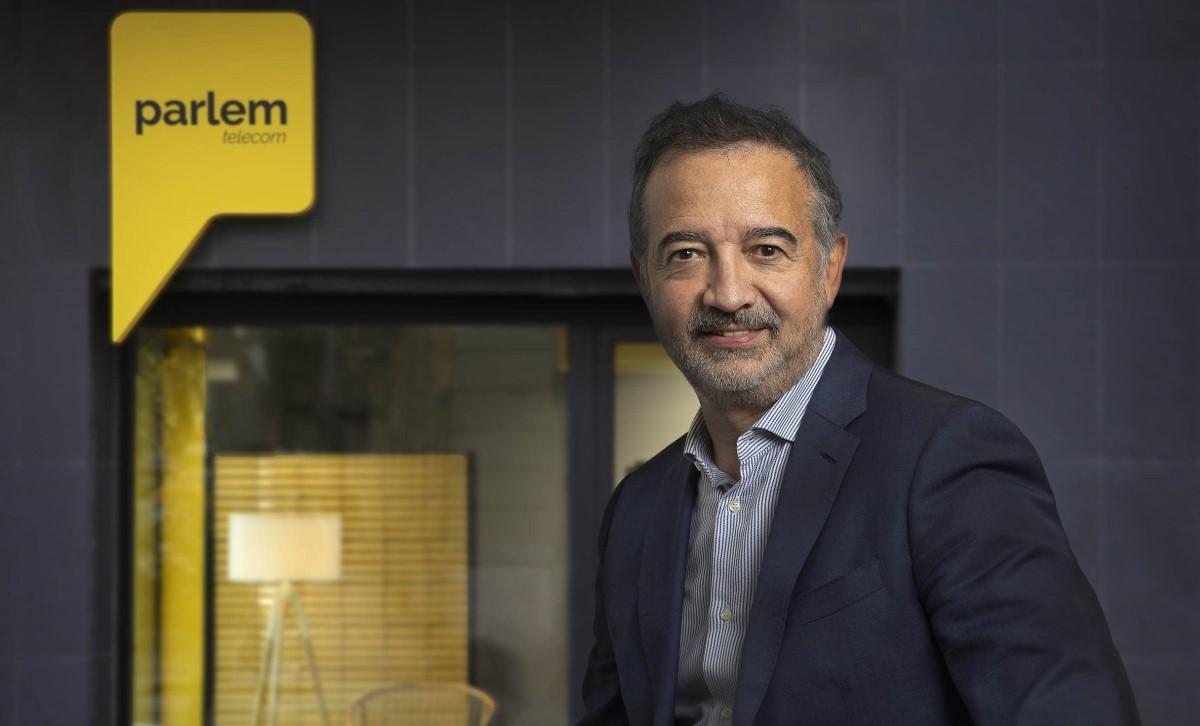 Ernest Pérez-Mas, CEO de l'operadora de telecomunicacions Parlem Telecom.