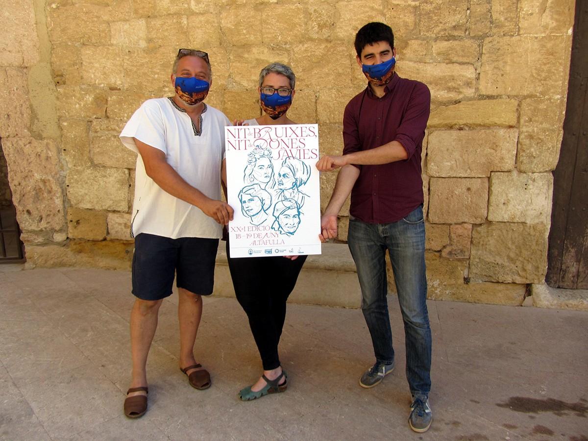 El coalcalde d'Altafulla, Jordi Molinera, i la regidora de Turisme Natalia Sanz, en una imatge d'arxiu.