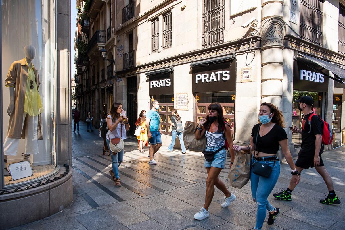 Els turistes tornen al centre de Barcelona