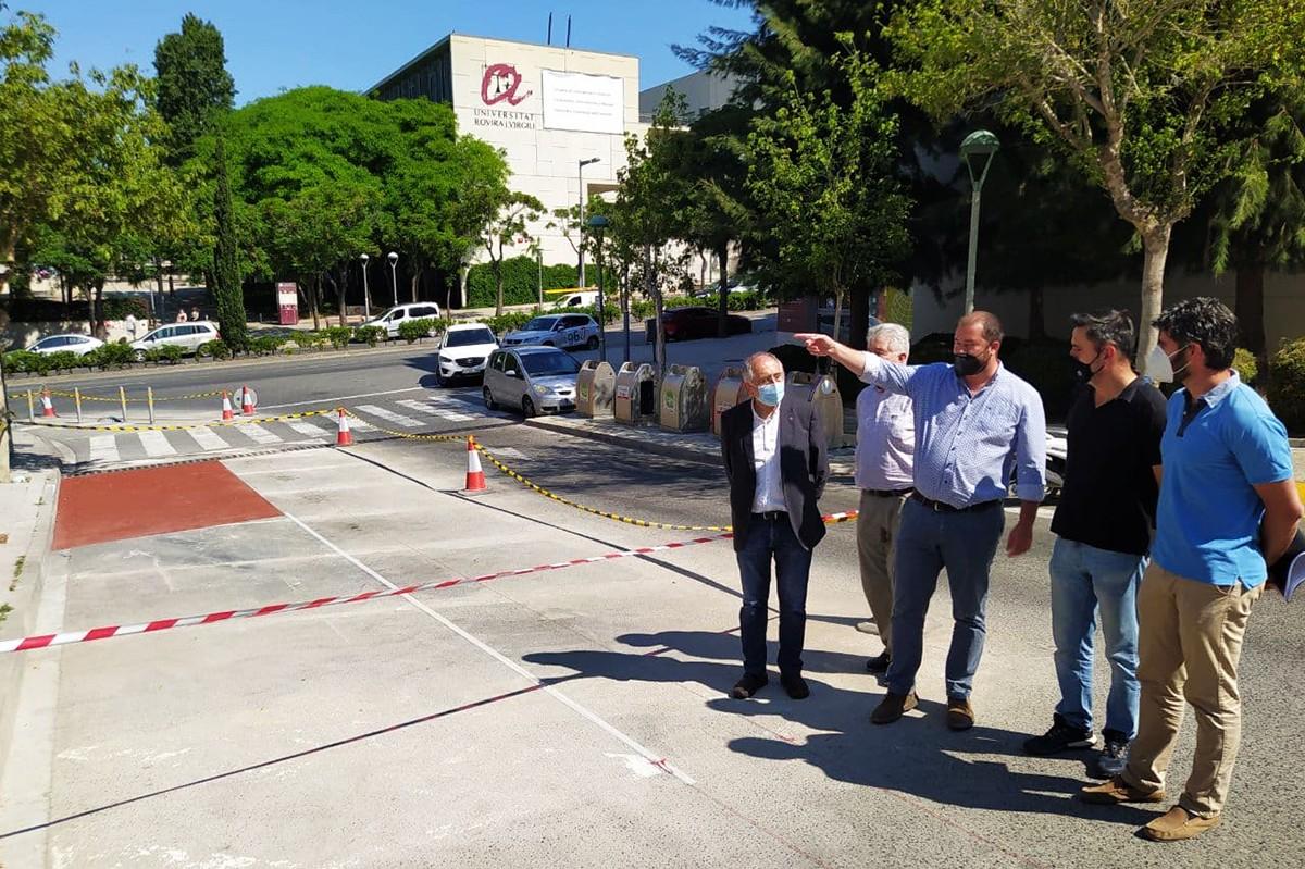 Responsables municipals i de la URV han presentat aquest dijous l'inici d'obres.