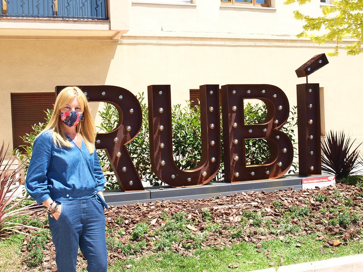 L'alcaldessa de Rubí, Ana María Martínez, fa balanç dels dos anys de mandat