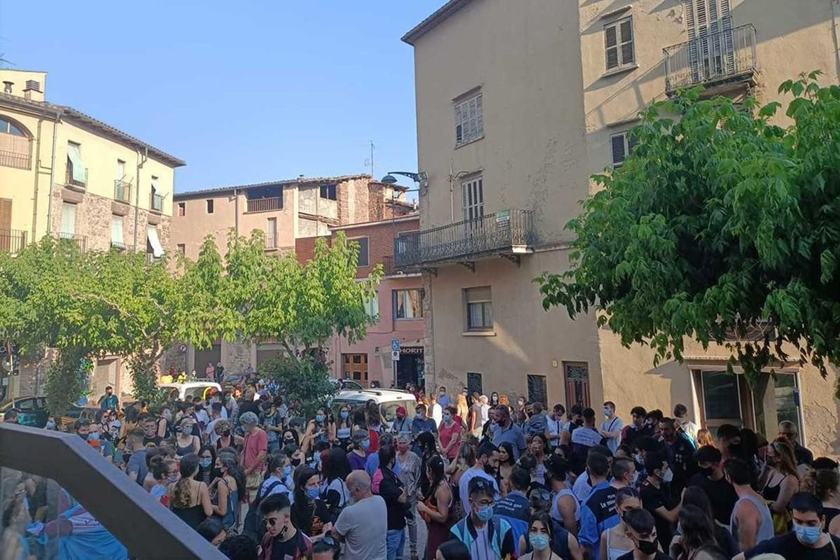 Concentració de rebuig a l'agressió sexual, aquest diumenge a Santpedor