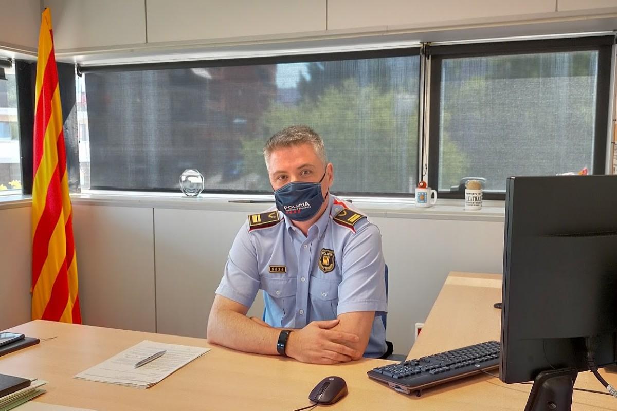 Carlos Otamendi, cap de l'Àrea Bàsica Policial de Rubí