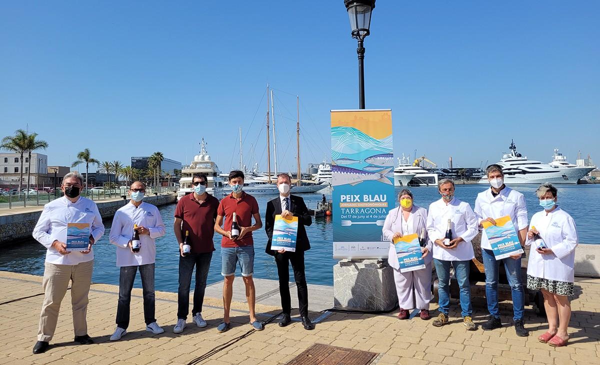 Presentació de les Jornades Gastronòmiques del Peix Blau de Tarragona