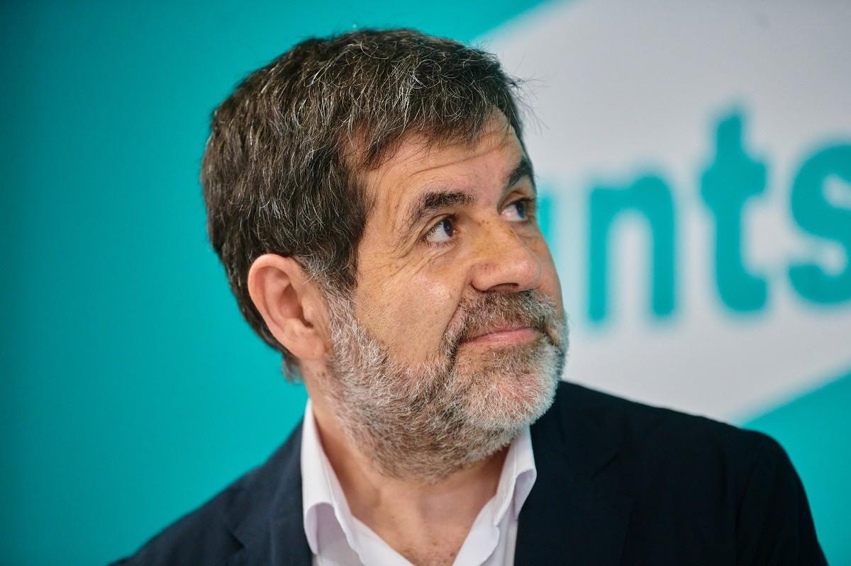 Jordi Sànchez, aquest dilluns a la seu de Junts.