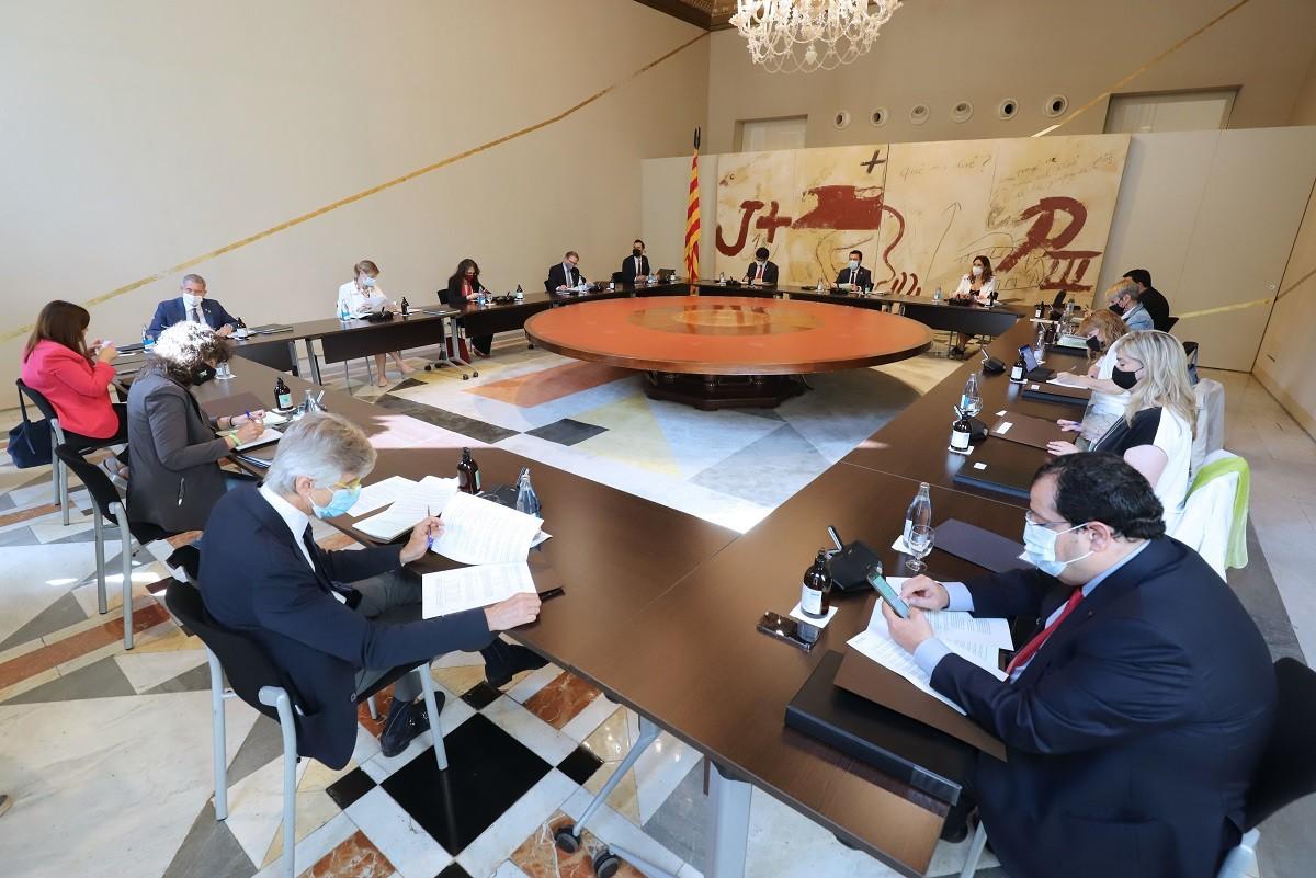 Reunió del Govern del 15 de juny del 2021.