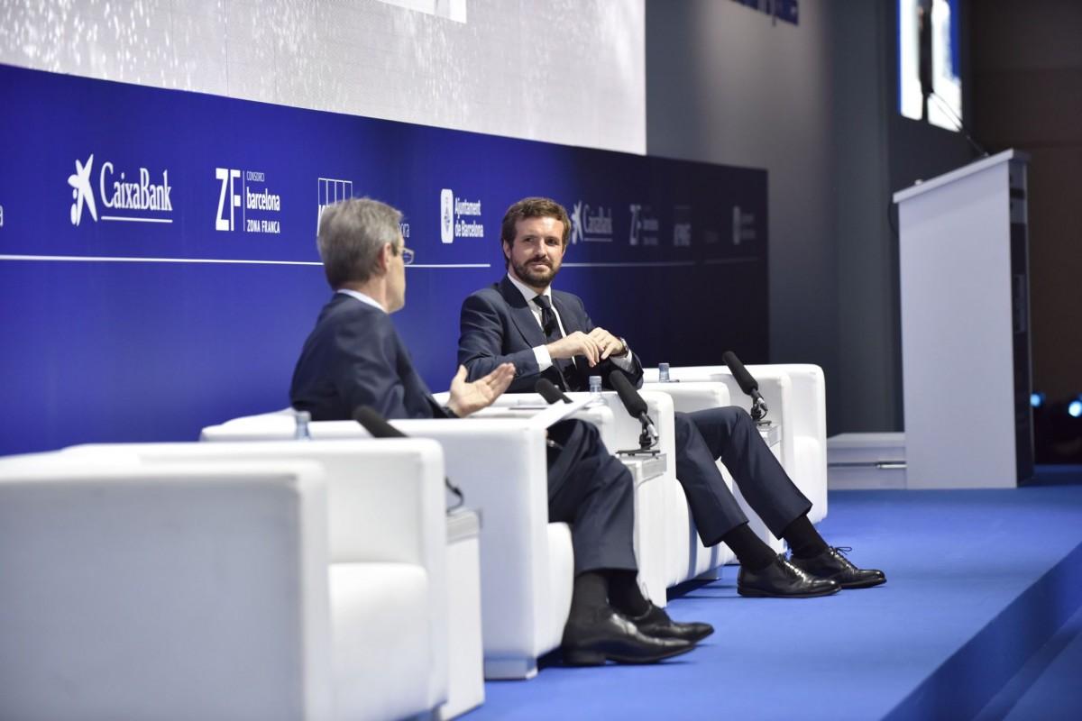 Jordi Gual i Pablo Casado aquest dijous.
