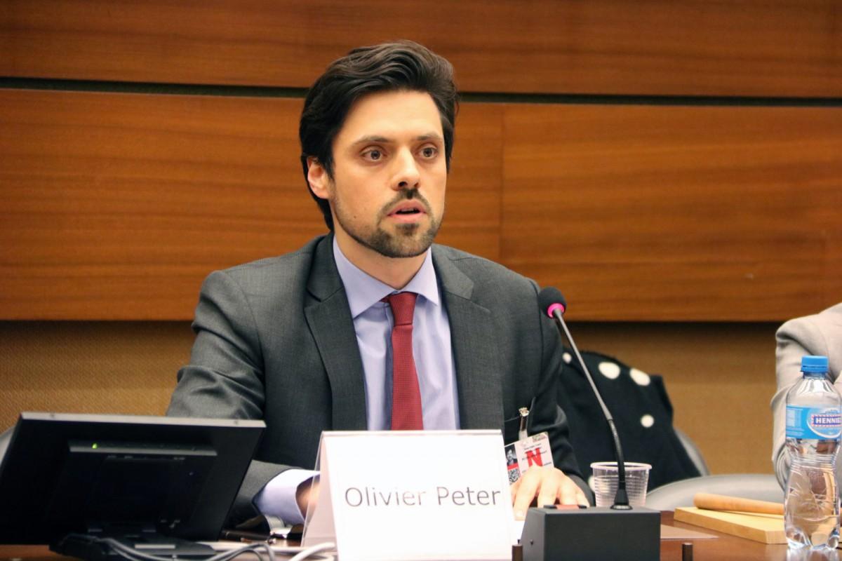 Olivier Peter, advocat de Jordi Cuixart que ha pilotat amb Benet Salellas el recurs del president d'Òmnium a Estrasburg