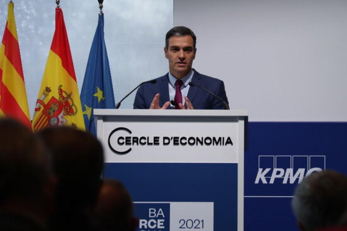 Sánchez aquest divendres davant el Cercle d'Economia.