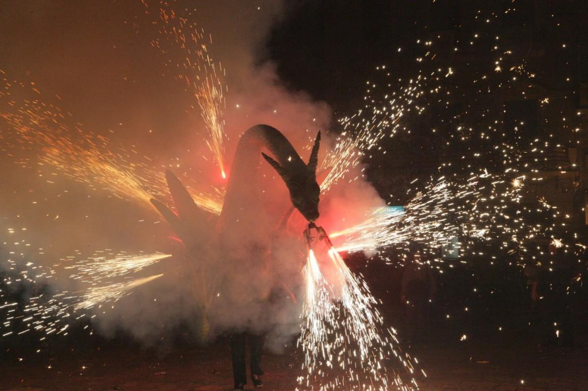 El foc serà protagonista, al parc Sant Jordi de Reus, de cara al vespre i la nit
