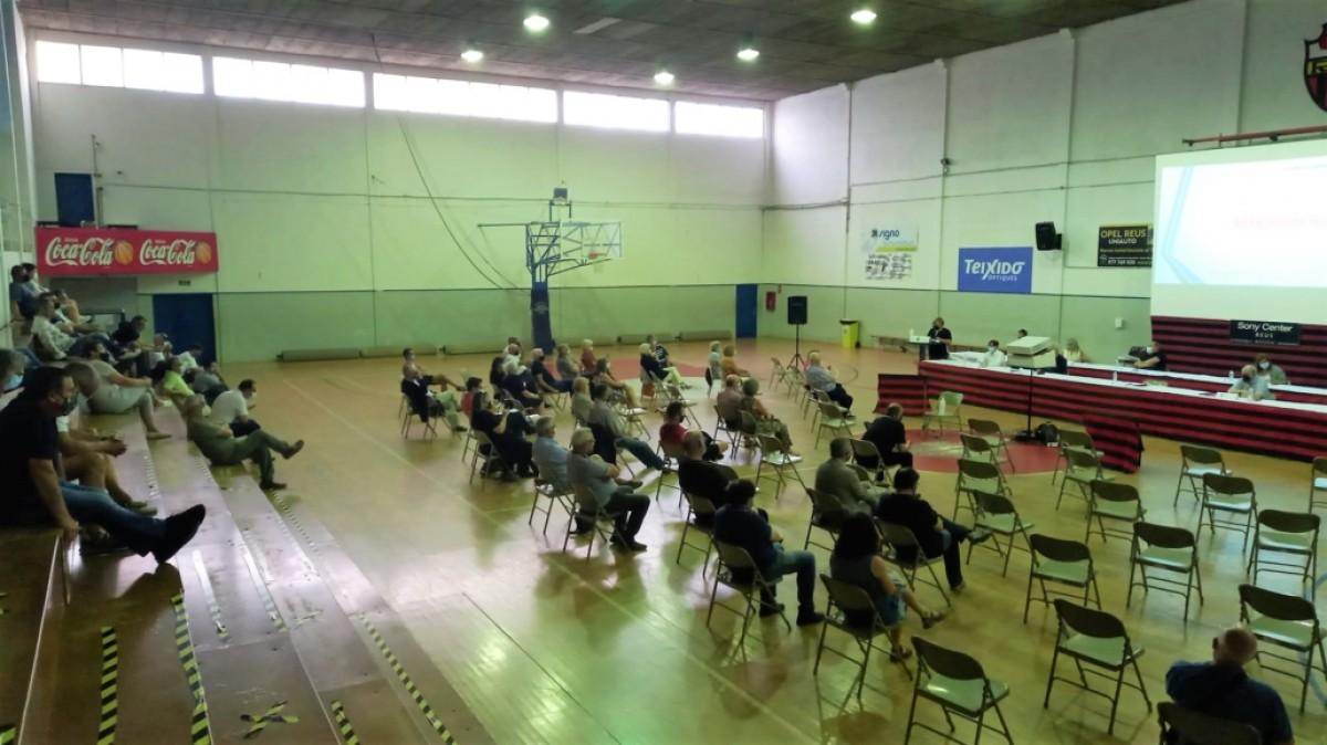 Una imatge de l'assemblea