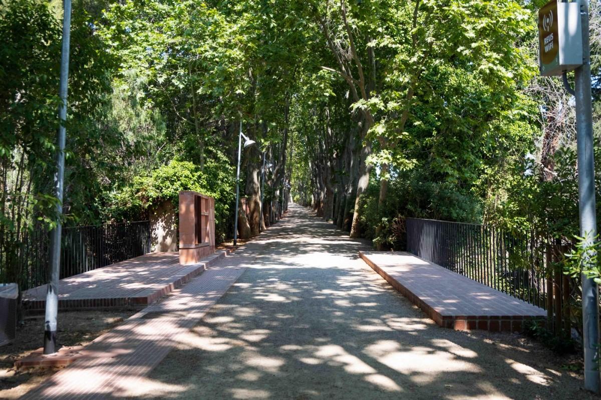 Un tram del passeig de la Boca de la Mina