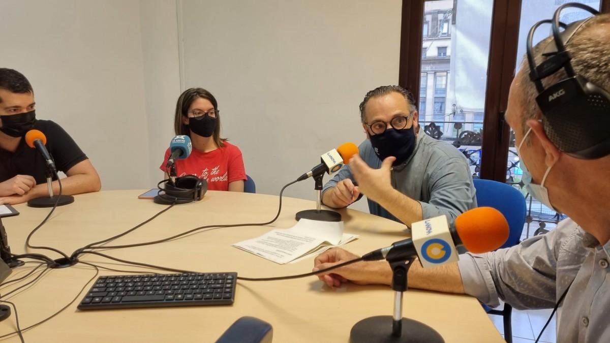 Busquets, Valls, Recasens i Arias, als estudis de LANOVA Ràdio de Reus