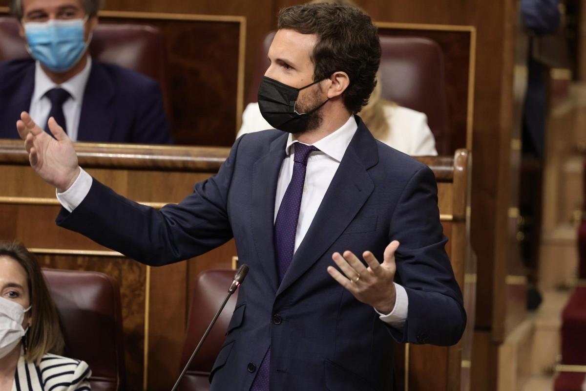 Pablo Casado aquest dimecres al Congrés