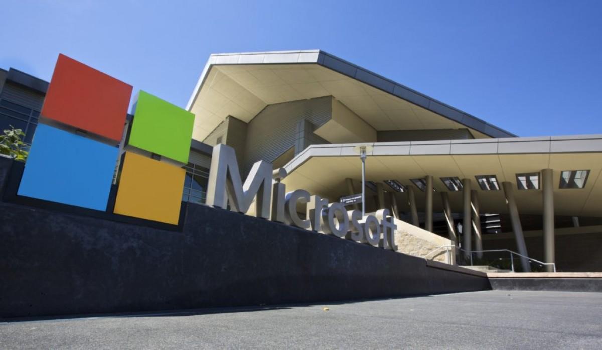 La seu central de Microsoft, a Redmond, Washington (EUA).