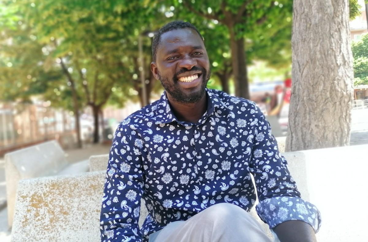 Ndiaga Diop va marxar de l'Àfrica quan tenia 22 anys
