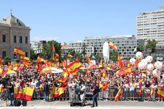 Dreta i extrema dreta, junts però no barrejats contra els indults als presos