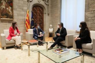 Junts trasllada a Aragonès que caldrà explorar «totes les vies» si fracassa el diàleg
