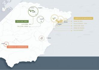 Els caves elaborats a Catalunya passen a dir-se Comtats de Barcelona