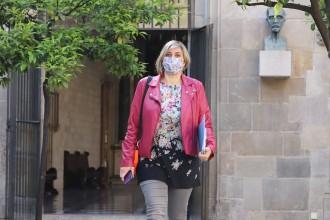 Alba Vergés, nova vicepresidenta del Parlament