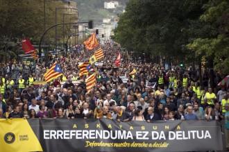 Via Pirinenca, la primera acció conjunta per la llibertat dels pobles català i basc