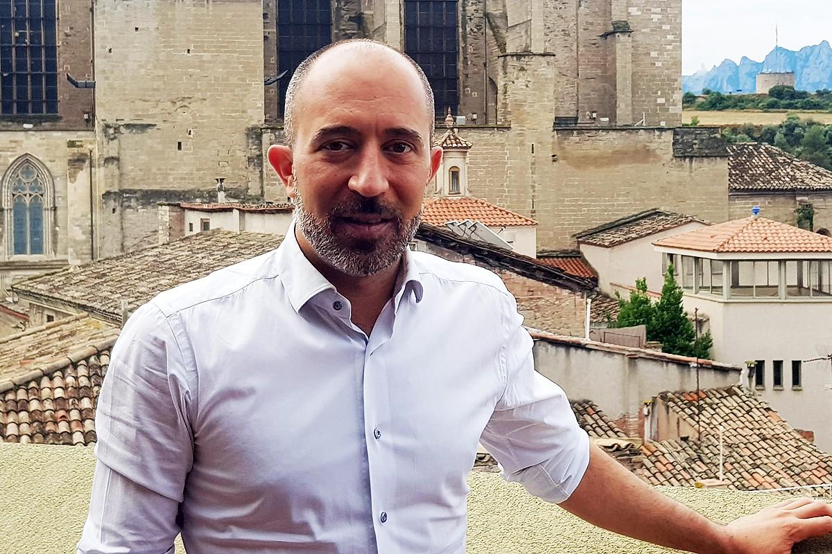 L'alcalde de Manresa, Marc Aloy