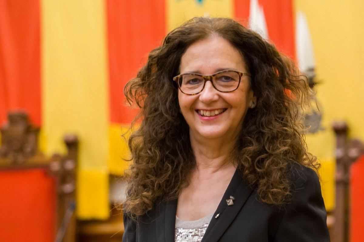 Teresa Ciurana, regidora d'Educació de l'Ajuntament de Terrassa.