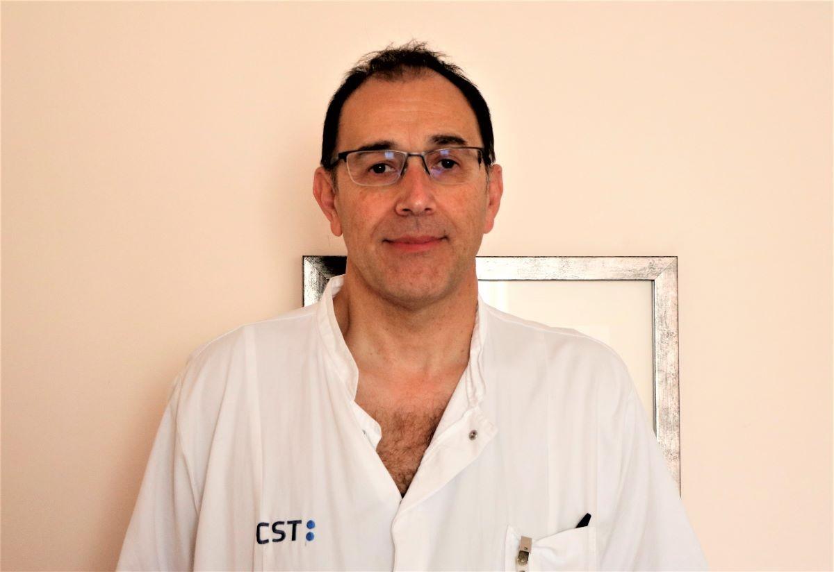 Director assistencial del CST, el Dr. Jaume Boadas