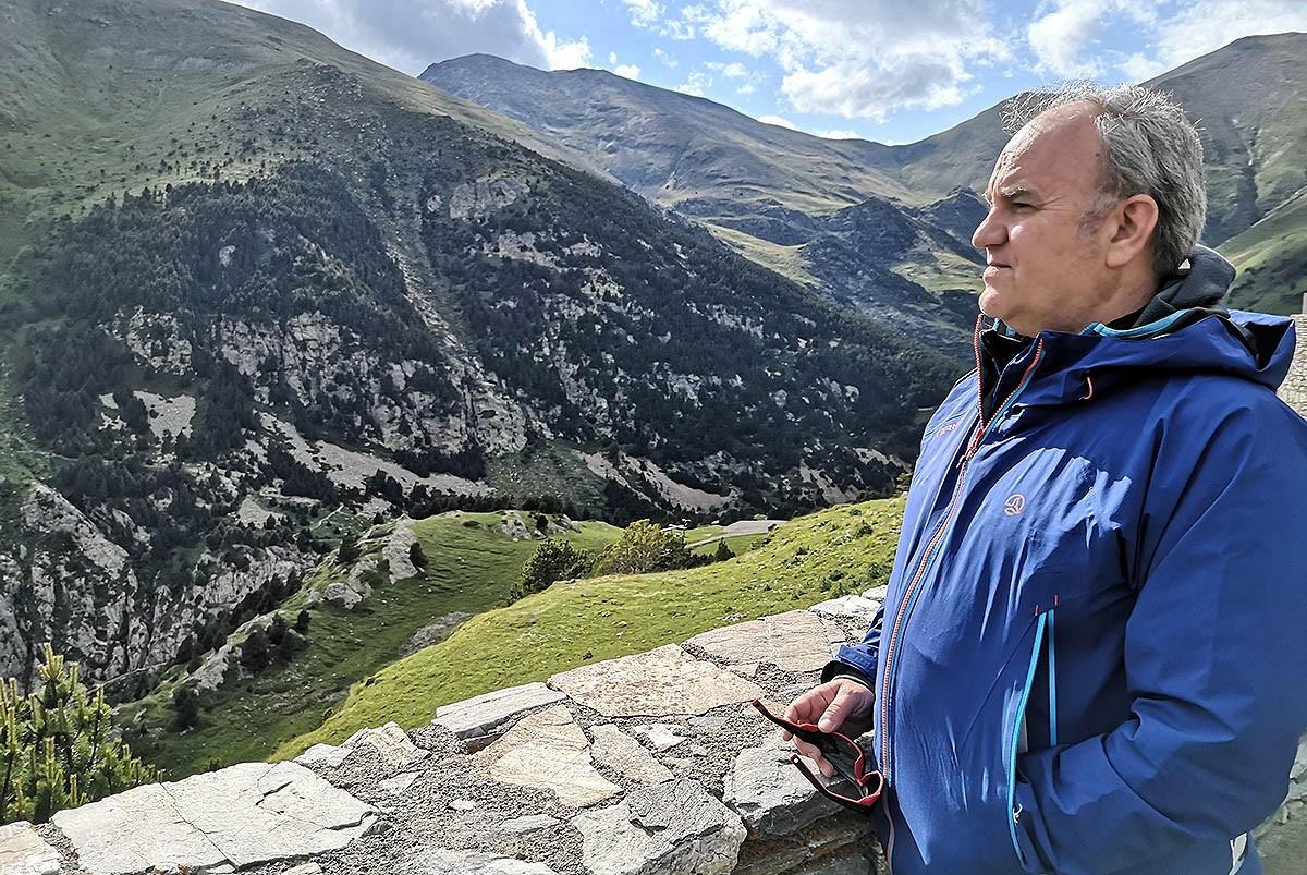 Santi Farriol, director del Parc Natural de les Capçaleres del Ter i el Freser