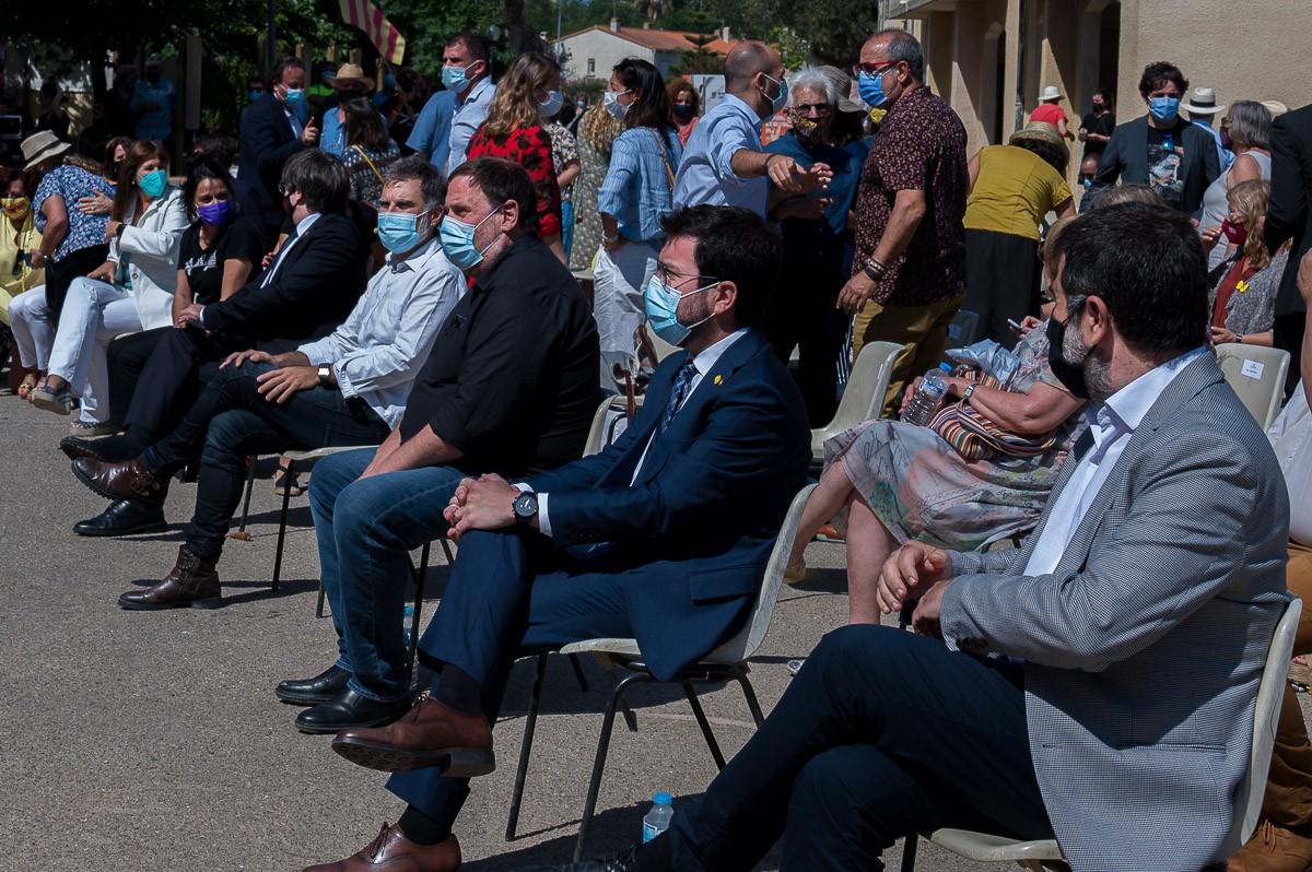 Representants de la plana major de l'independentisme, a la Catalunya Nord.