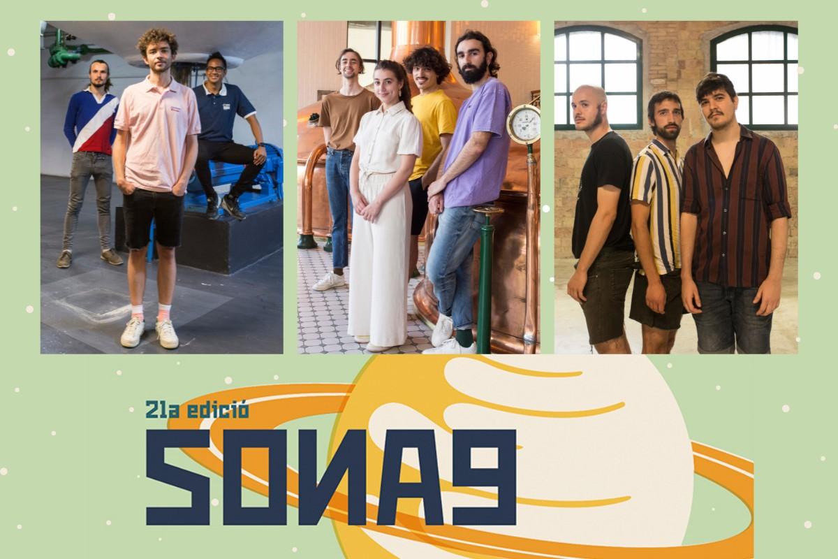Palmera, Pommier i Roko Banana, seleccionats al Sona9 2021
